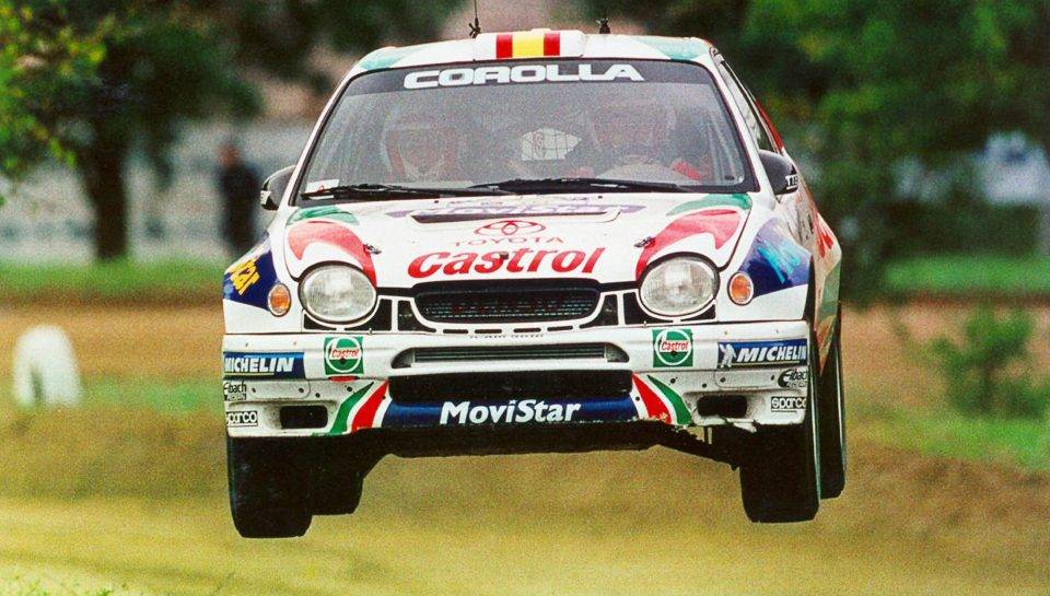 Toyota celica gt-four и позор тойоты 90-х