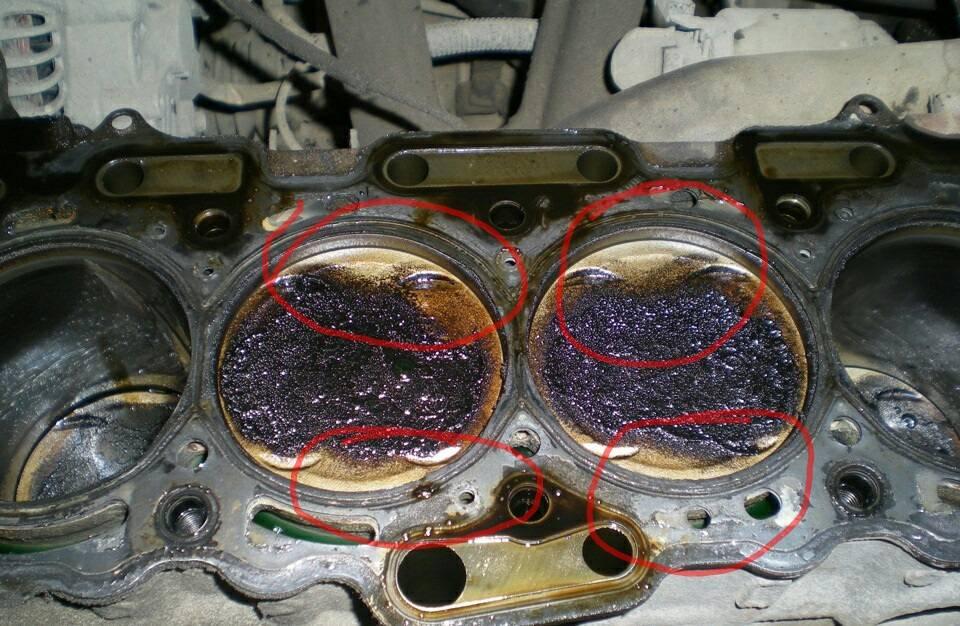 Двигатель ест масло, но не дымит, машина «жрёт» масло