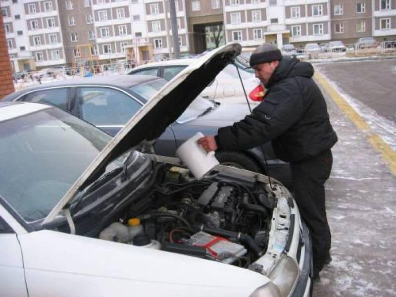 Запуск двигателя в мороз — заводим автомобиль