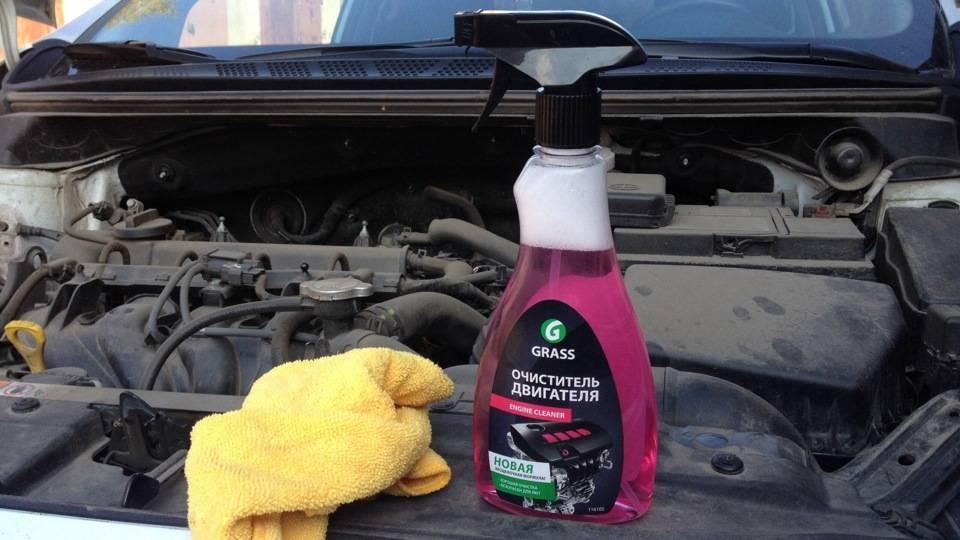 Как помыть двигатель автомобиля самостоятельно в домашних условиях