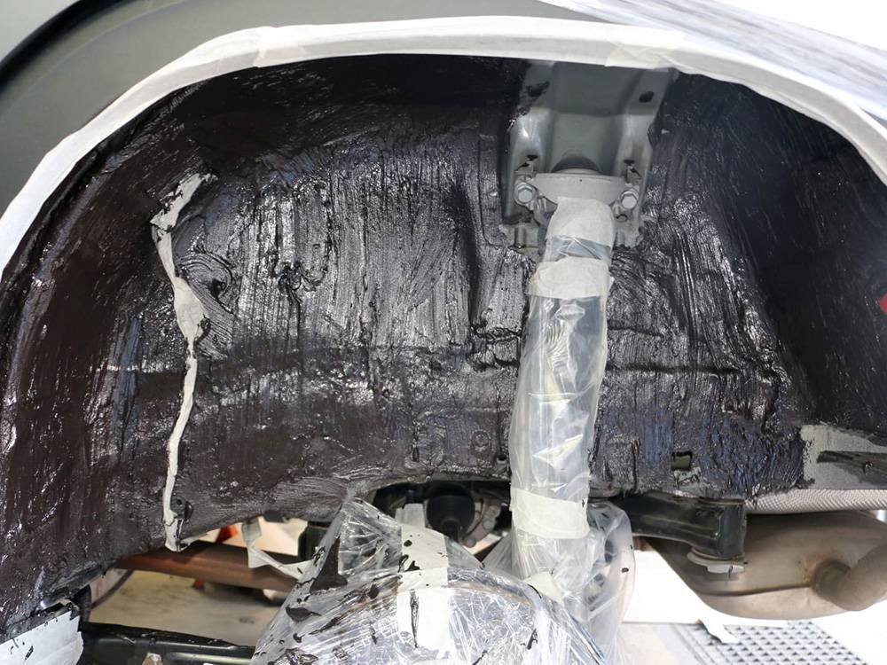 О шумоизоляции арок колес автомобиля