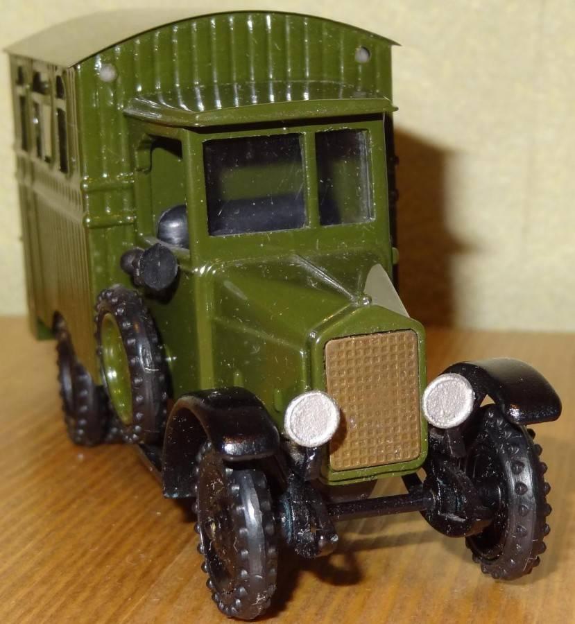 Первый советский грузовик амо-ф-15 отмечает юбилей — 90 лет