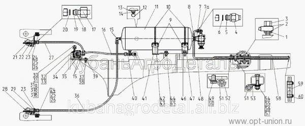 Тормозные системы / руководство по эксплуатации автомобиля камаз65115 / техсправочник / кама-автодеталь