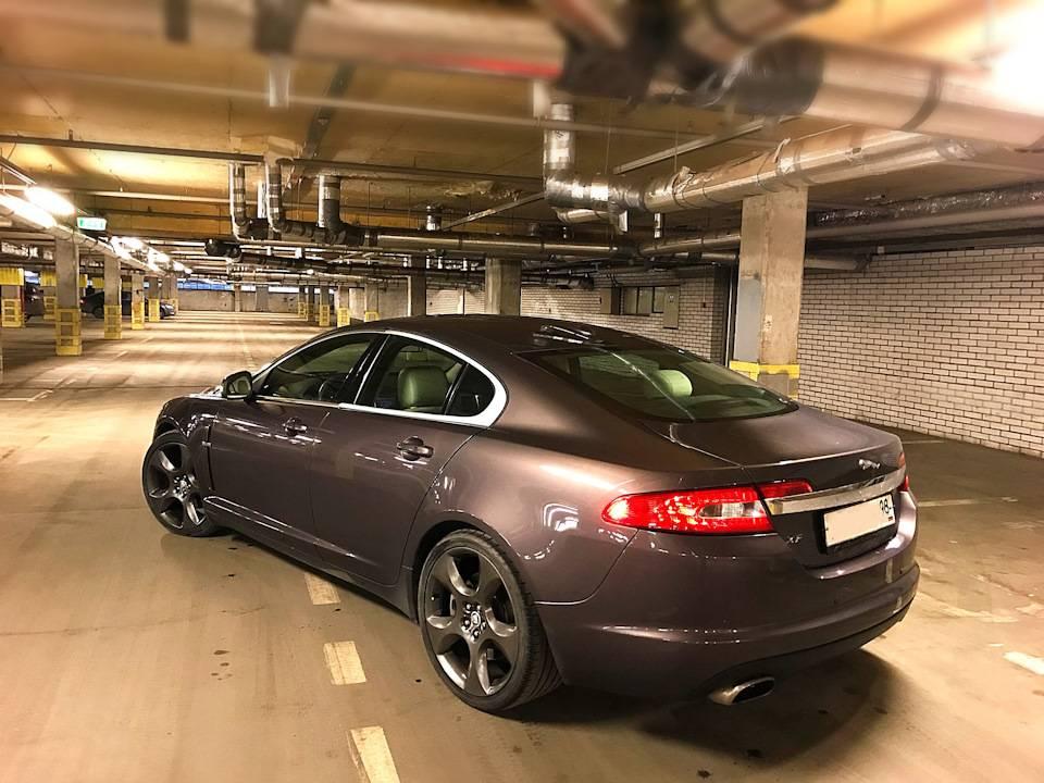 Jaguar xf 2008 замена редуктора