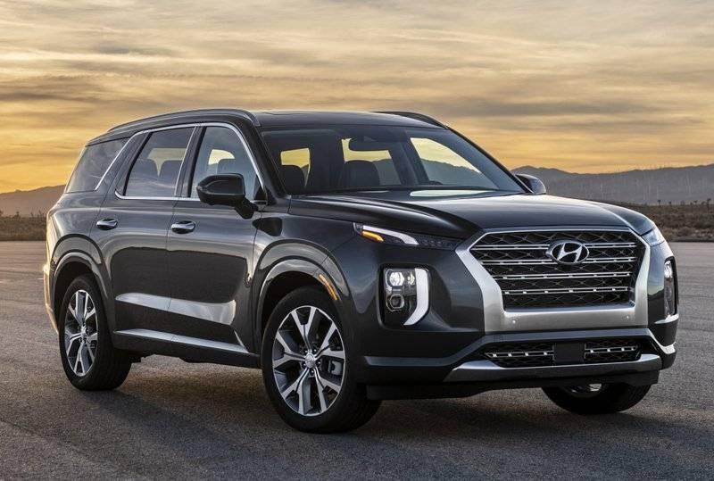 Hyundai получил патент на кроссовер Palisade