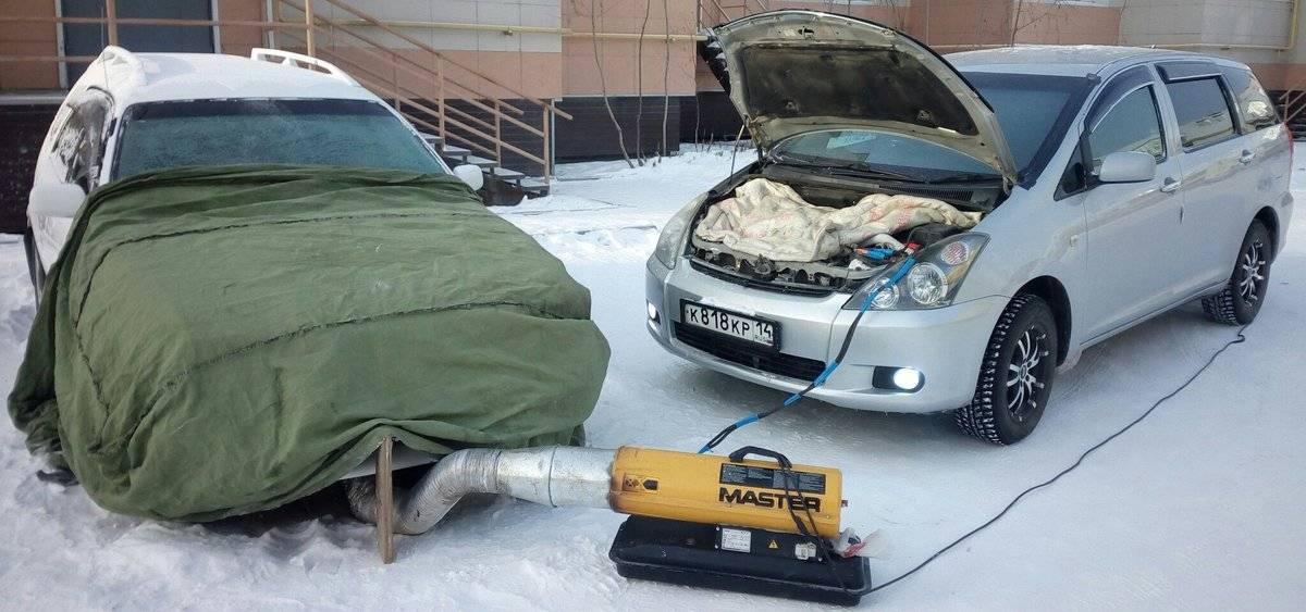 Холодный пуск дизельного двигателя эфиром - авто сфера №76