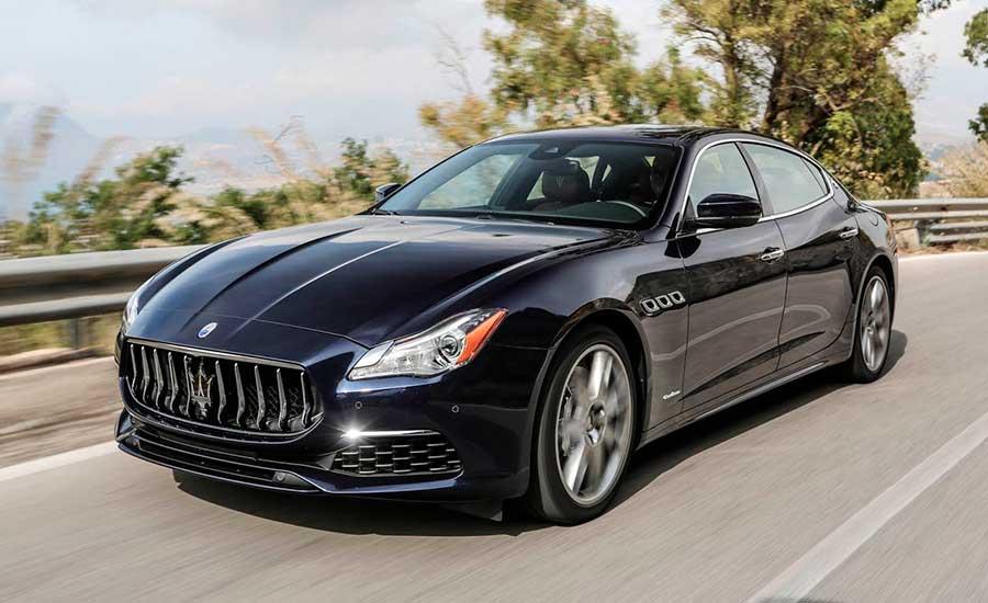 Автомобиль для новых побед Maserati Quattroporte S