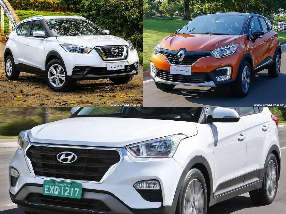 Hyundai creta или renault kaptur. сравнение одноклассников