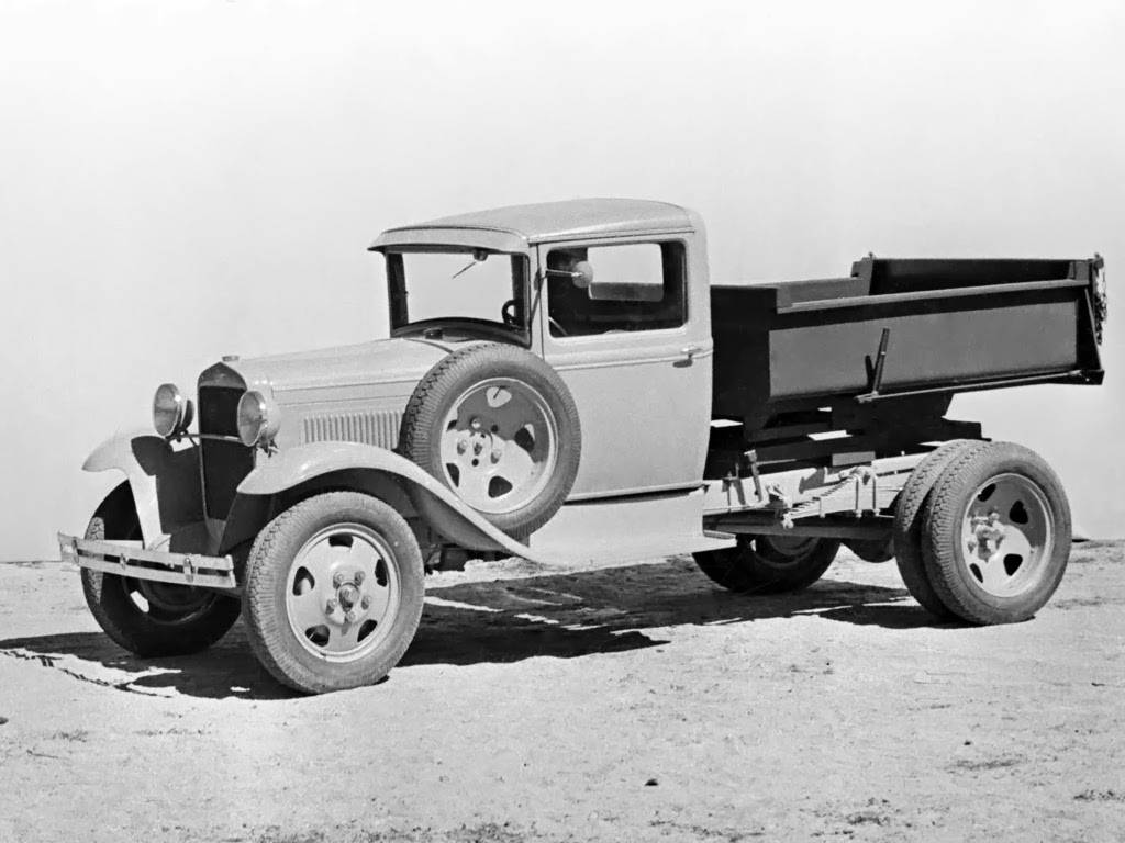 Автомобиль газ-аа полуторка и его модель газ-мм