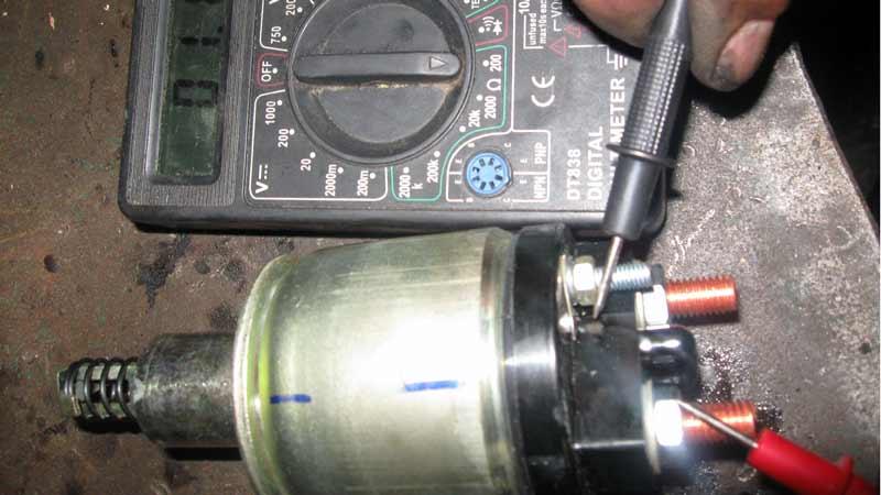 Втягивающее реле стартера: описание,устройство,фото,видео,проверка,ремонт.