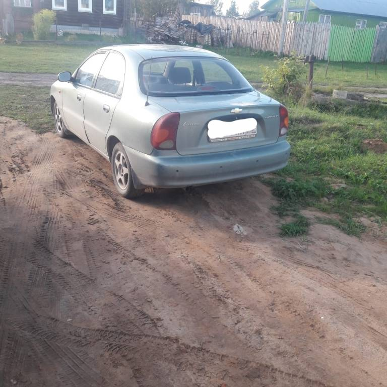Chevrolet lanos за 100 000 рублей