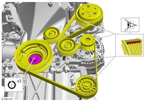 Замена ремня генератора форд фокус 2 1.6, 1.8, 2.0, фото, видео