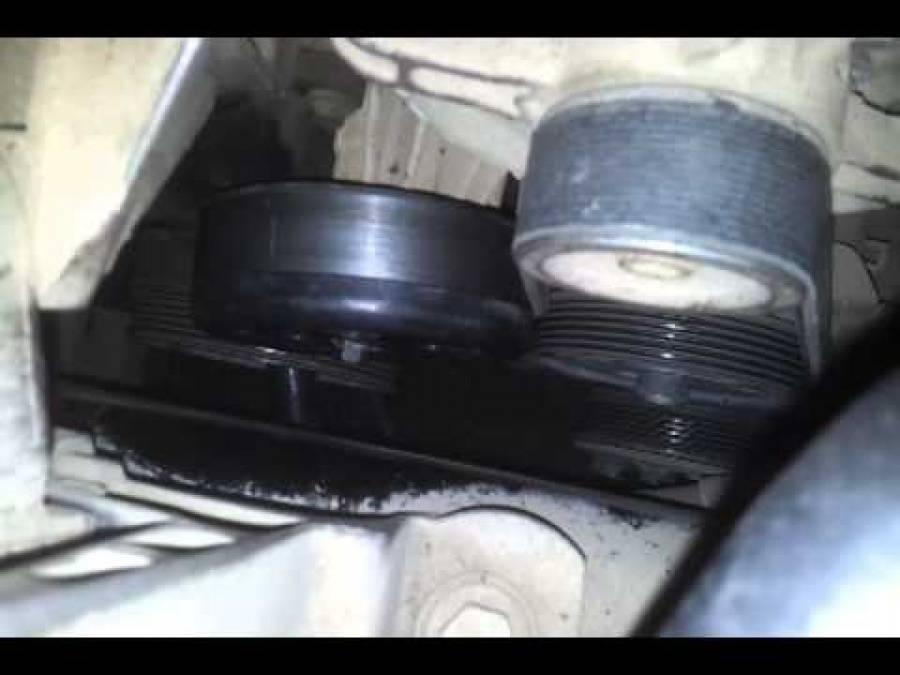 Замена, натяжка, установка ремня генератора форд фокус 2