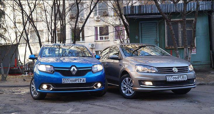 Битва бюджетников: Renault Logan II и Volkswagen Polo V