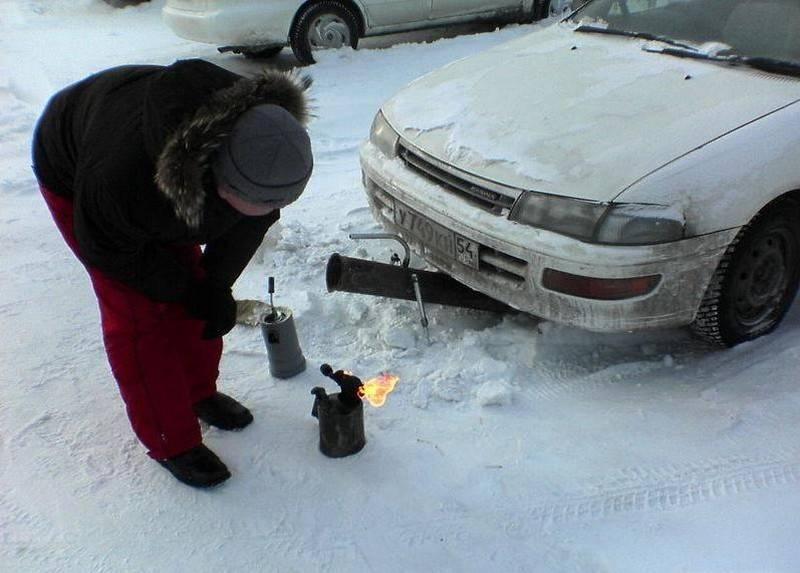 Как завести машину в сильный мороз, если сел аккумулятор — инструкция 2021 года
