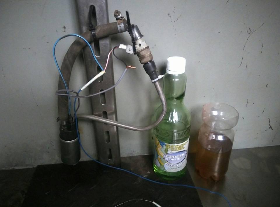Промывка инжектора, клапанов и камеры сгорания. фото и видео