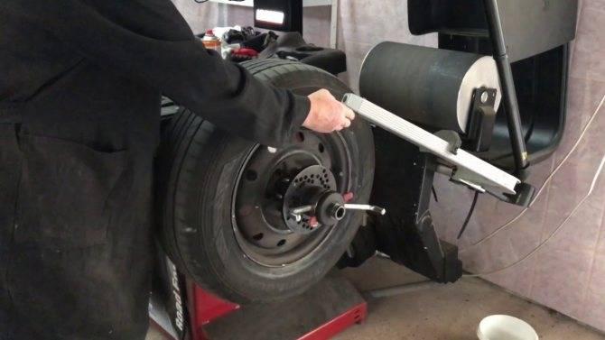 Делаем балансировку колес без специальных устройств своими руками
