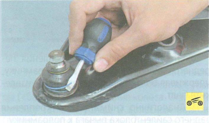 Шаровая рено логан 1: замена опоры без снятия рычага, logan 1