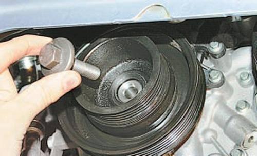 Замена ремня компрессора кондиционера ford focus 2 duratec he