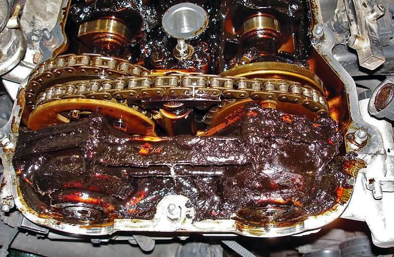 Промывка масляной системы двигателя. как промывать двигатель