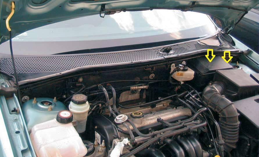 Замена фильтра салона Форд Фокус 3