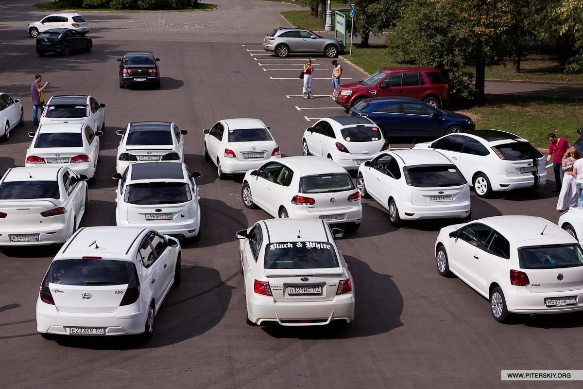 6 причин не покупать белый автомобиль