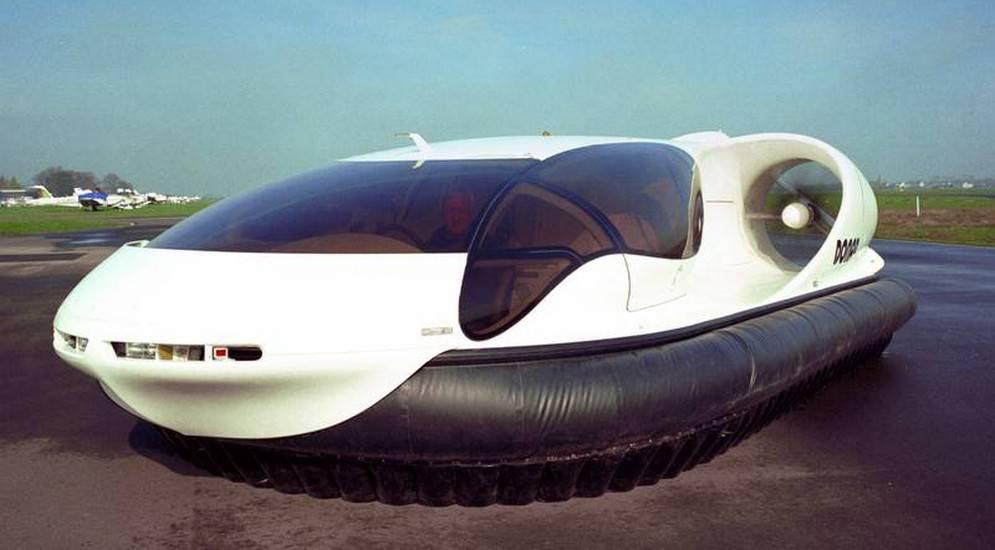 Самодельное судно на воздушной подушке