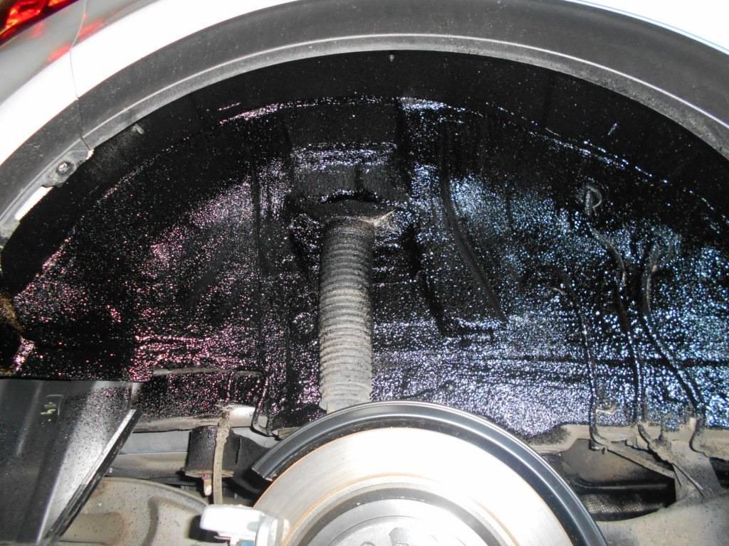 Шумоизоляция колесных арок автомобиля своими руками. советы экспертов.