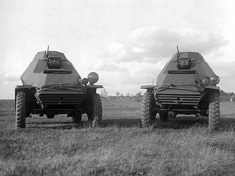 Ба-64 ???? описание бронеавтомобиля, машины войны