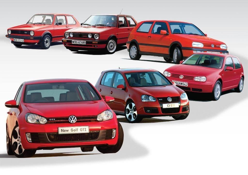 Volkswagen представит три «заряженных» модификации популярного хетчбэка Golf