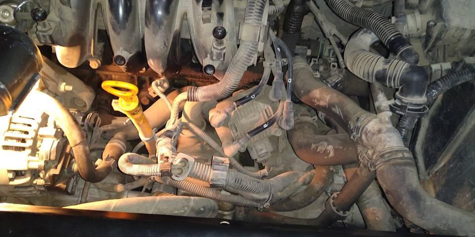 Замена свечей зажигания, в условиях гаража, шкода октавия | euroskoda.ru