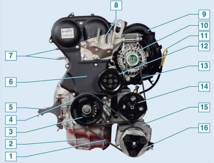 Замена приводного ремня аксессуаров ford focus 2 (1.4-1.6 duratec 16v)