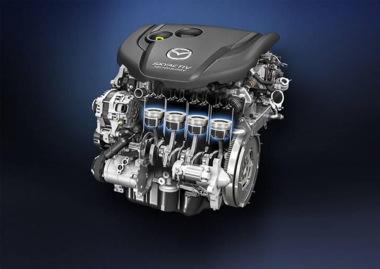 Двигатели Mazda Skyactiv: надежность, плюсы и минусы