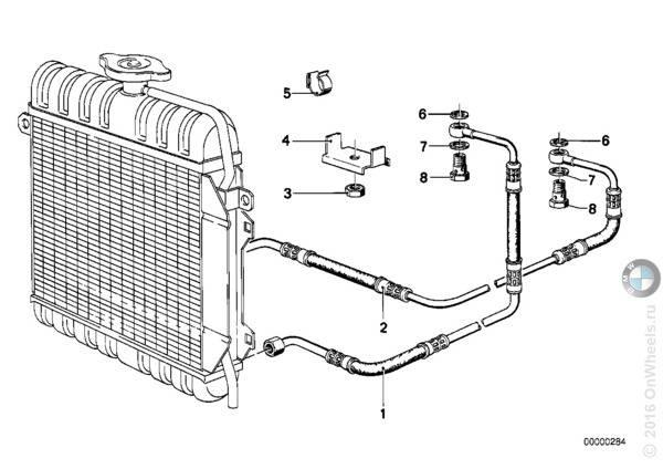 Система охлаждения акпп и установка дополнительного универсального радиатора