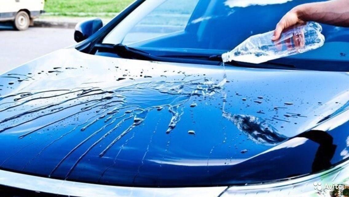 Покрытие воском автомобиля, виды автомобильного воска