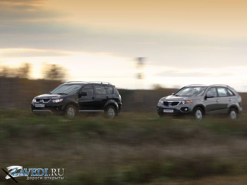 Hyundai Terracan и Kia Sorento: чей привод круче