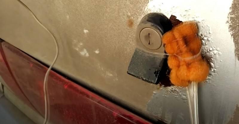 Лайфхак: как избавиться от ржавчины на кузове автомобиля своими руками