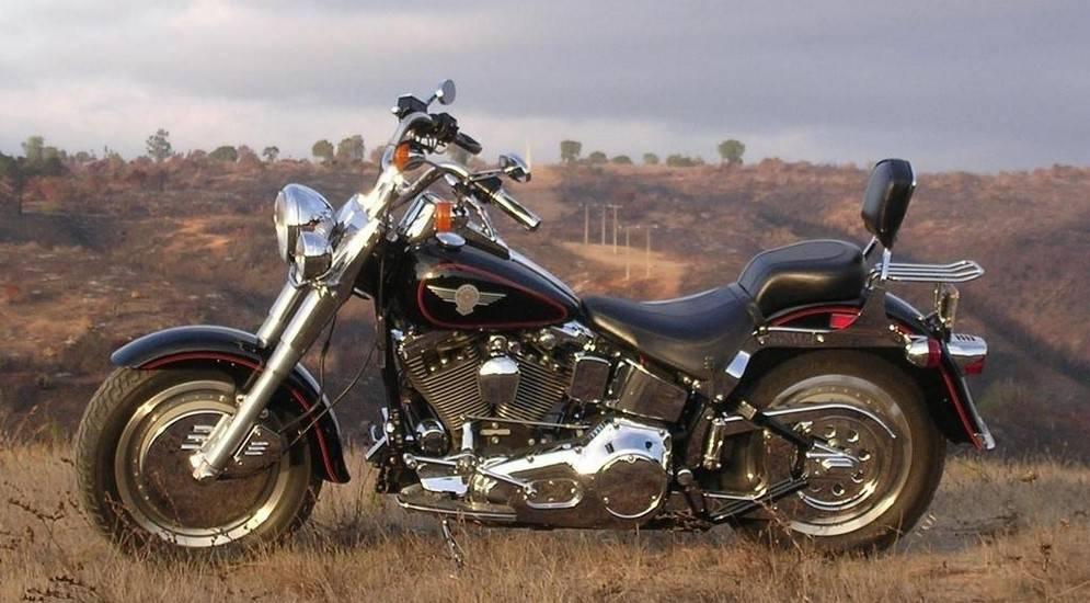 Harley-davidson flstf fat boy 1990: мотоцикл терминатора, подорожавший в 50 раз — riders