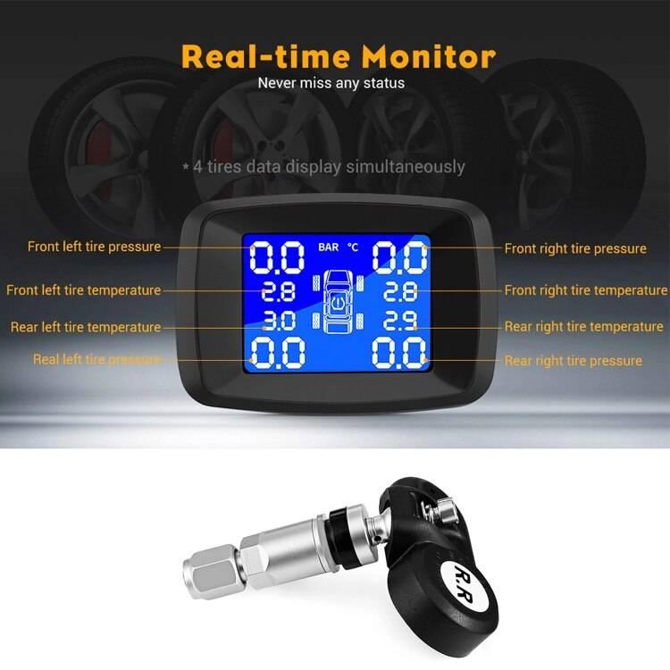 Разновидности систем контроля давления в шинах автомобиля