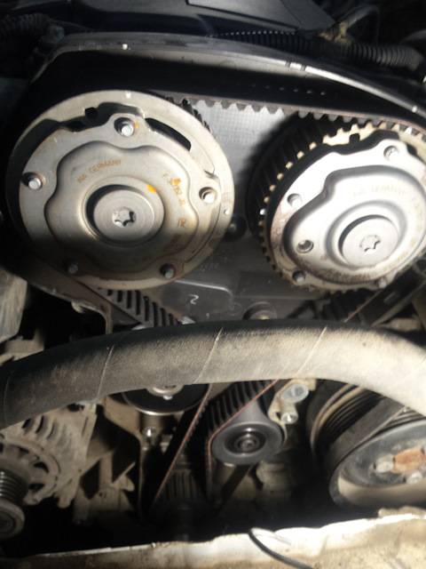 Быстрая замена ремня грм на шевроле круз с двигателем 1,8 литра 16 клапанов