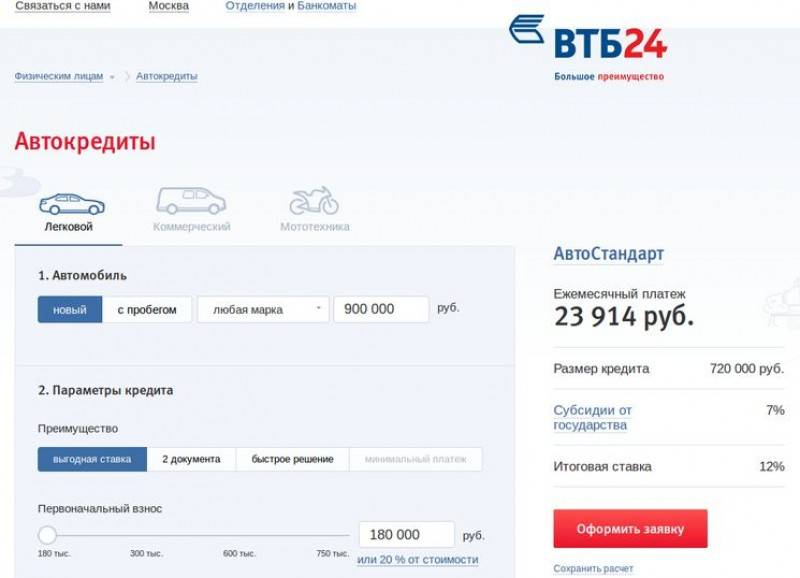 Автокредиты – оформить и взять онлайн, подбор банков с выгодными условиями