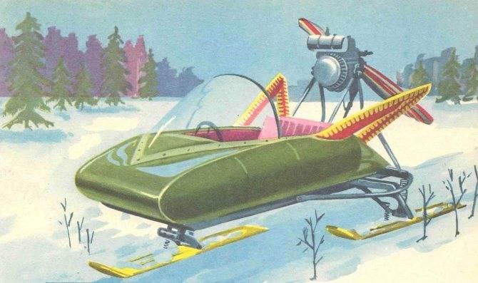 Покоритель снежных пространств – аэросани патруль
