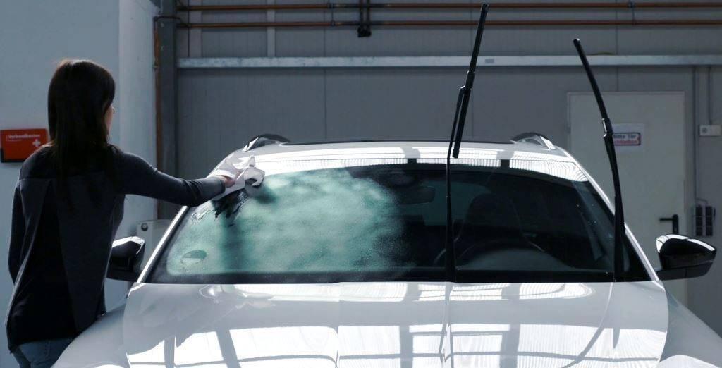 Антидождь для стекла автомобиля: делаем своими руками