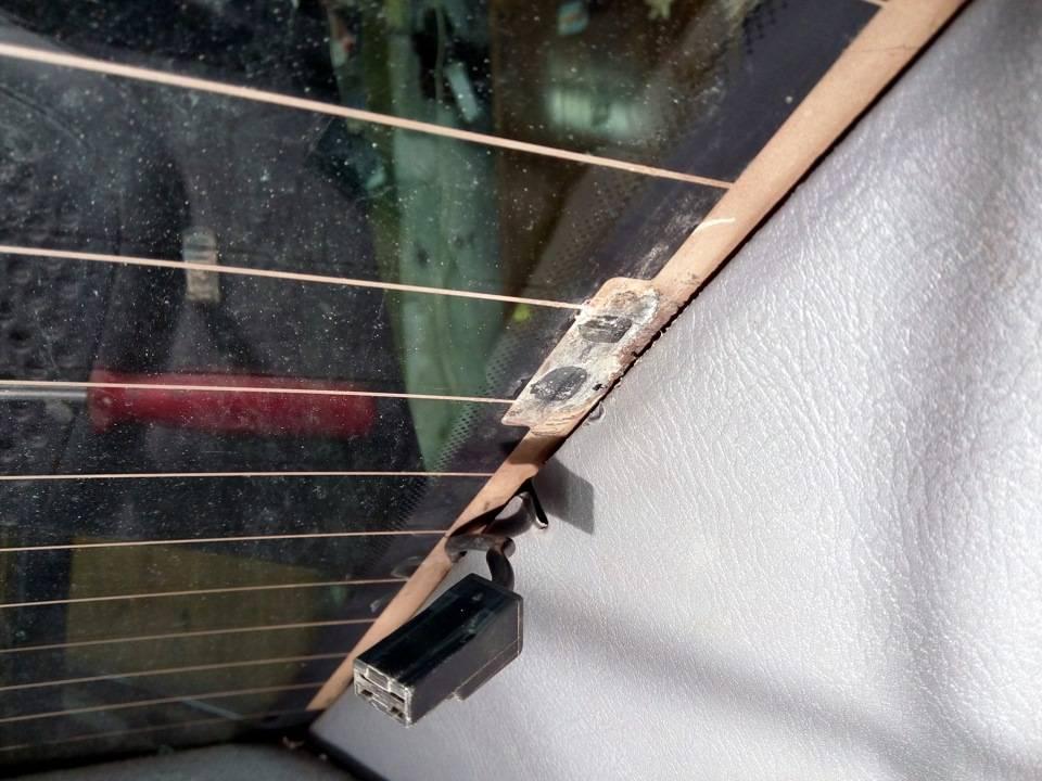 Как своими руками отремонтировать обогрев заднего стекла (фото и видео)