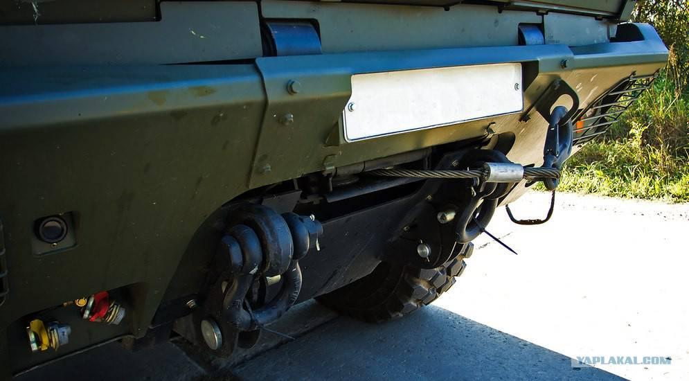 Бронеавтомобиль камаз-63969 «тайфун»