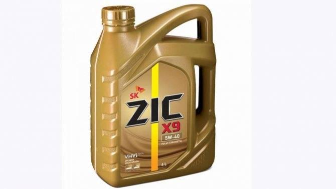 Моторное масло zic-ассортимент и характеристики