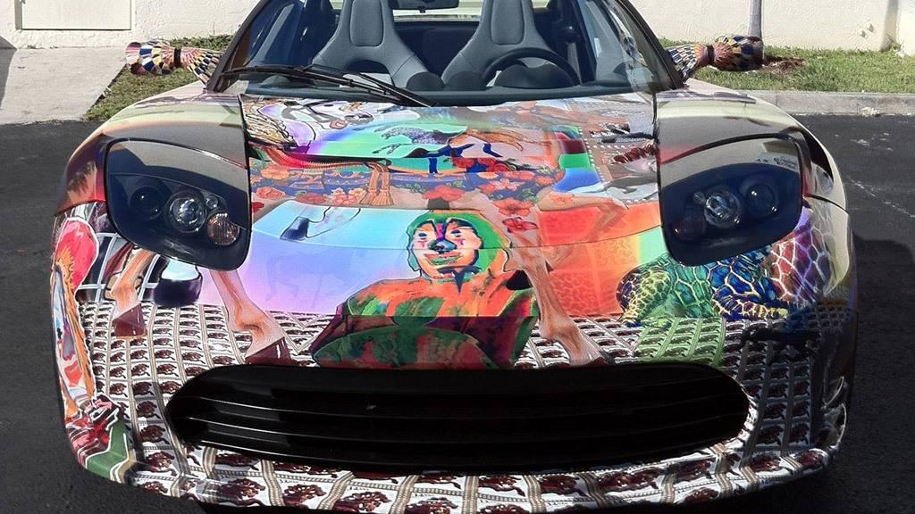 Как автомобиль может быть предметом искусства  | gq russia