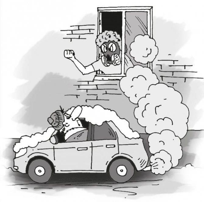 Можно ли стоять во дворе с включенным двигателем? - лучшие короткие ответы на вопросы