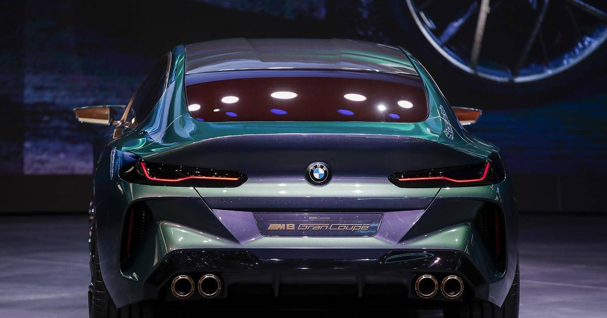 Bmw представил m8 gran coupe в эксклюзивном исполнении first edition