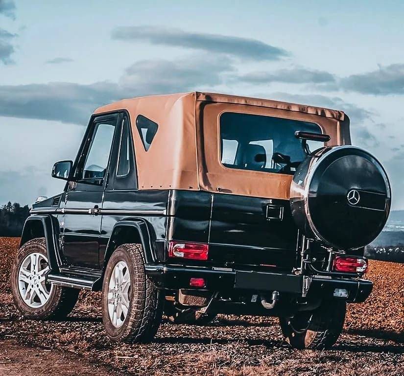 37 лет улучшений: эволюция mercedes-benz geländewagen